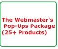 Webmaster's Pop-Ups Package Work at Home, Home Jobs, Make Money Online Websites