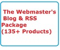 Thumbnail The Webmasters Blog & RSS Package Ready Made Business Web