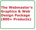 Webmaster's Graphics & Web Design Package Established Internet Website Business