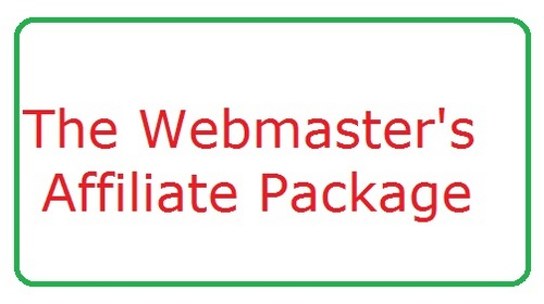 Product picture The Webmaster   Affiliate Package   (190+ Products)