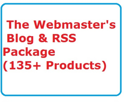 Product picture The Webmasters Blog & RSS Package Ready Made Business Website