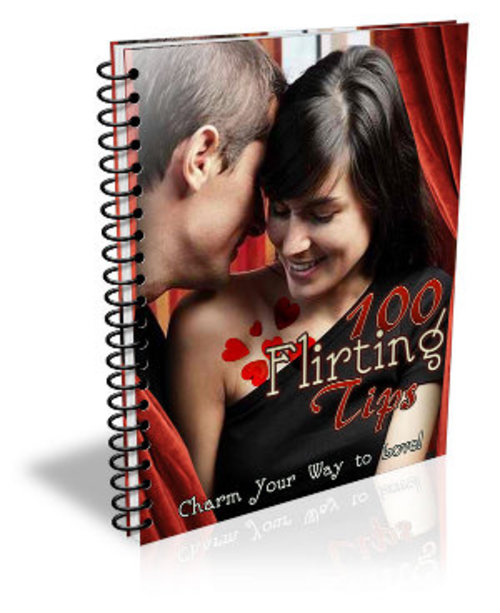 Product picture 100 Flirting Tips with PLR